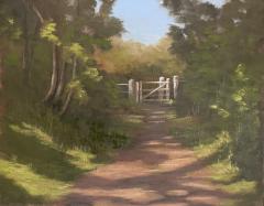 Dappled Gate in Cornwall